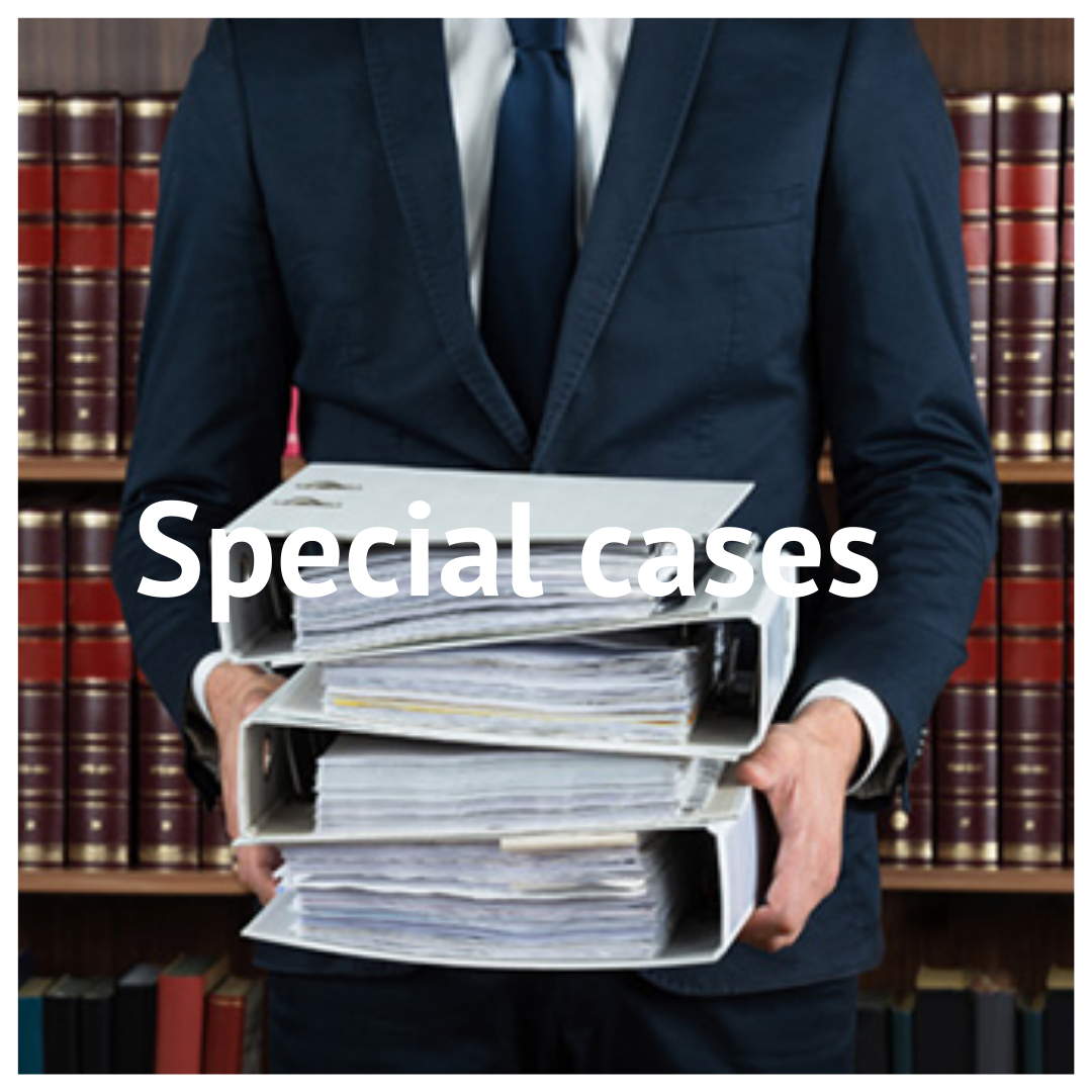 Special cases 2 - Home